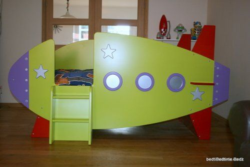 Rocket Bed Griffin Would Love This Kids Rooms Spaces