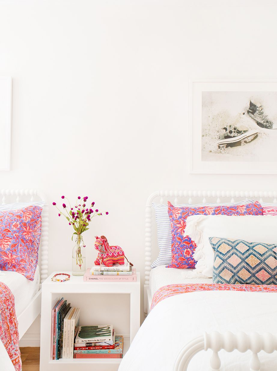 embellish your bed with throw pillows  View entire slideshow: Decor Must-Haves for Any Age on http://www.stylemepretty.com/collection/3885/
