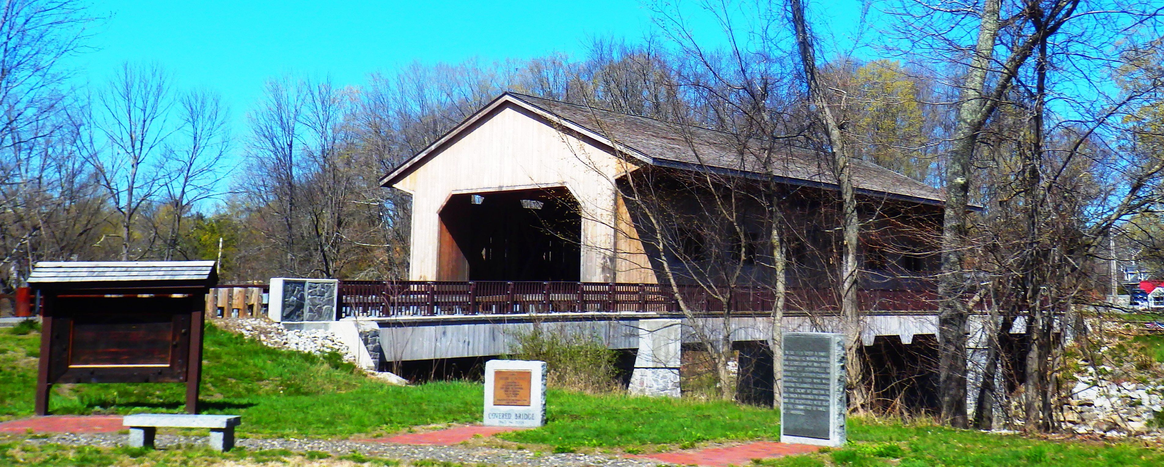 Pepperell Covered Bridge Photograph by James Walsh