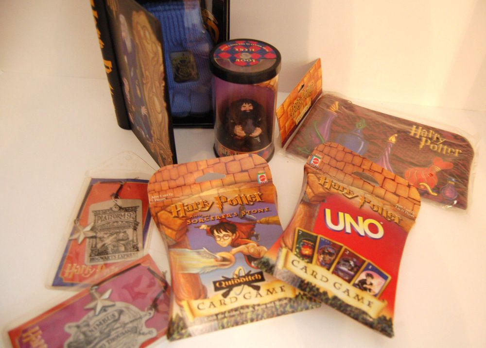 Harry potter sealed uno quidditch card games collectible