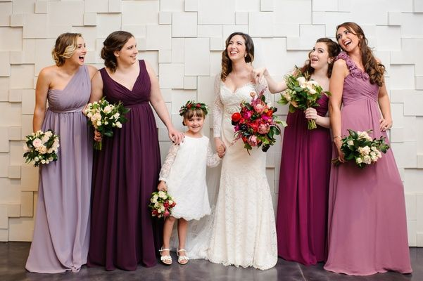 Mismatched Bridesmaid Dresses For Trendsetting Brides