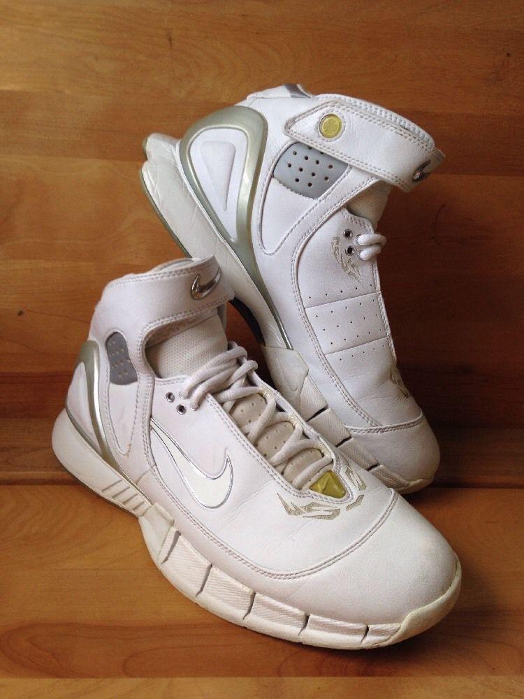 White Size Shoe Velcro High Top 5 8 Nike Huarache Sneaker Men's N8n0mwOPvy