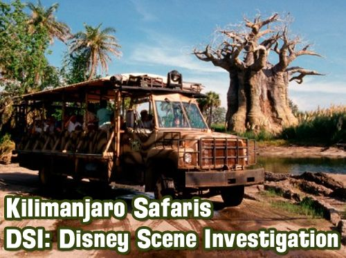 Kilimanjaro Safaris DSI: Disney Scene Investigation and Disney Trivia Contest
