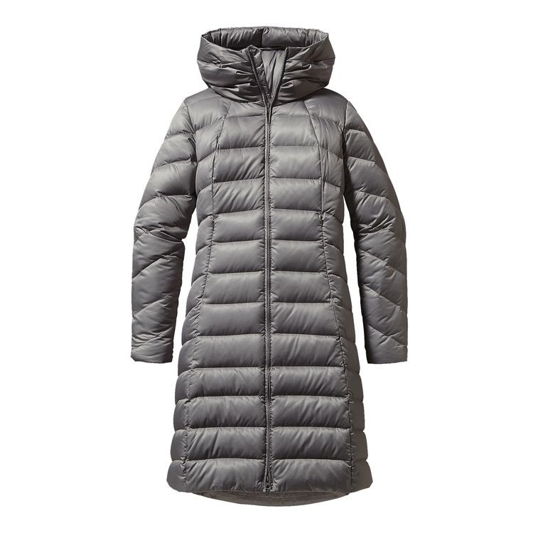 W S Downtown Parka Feather Grey Fea Patagonia Womens