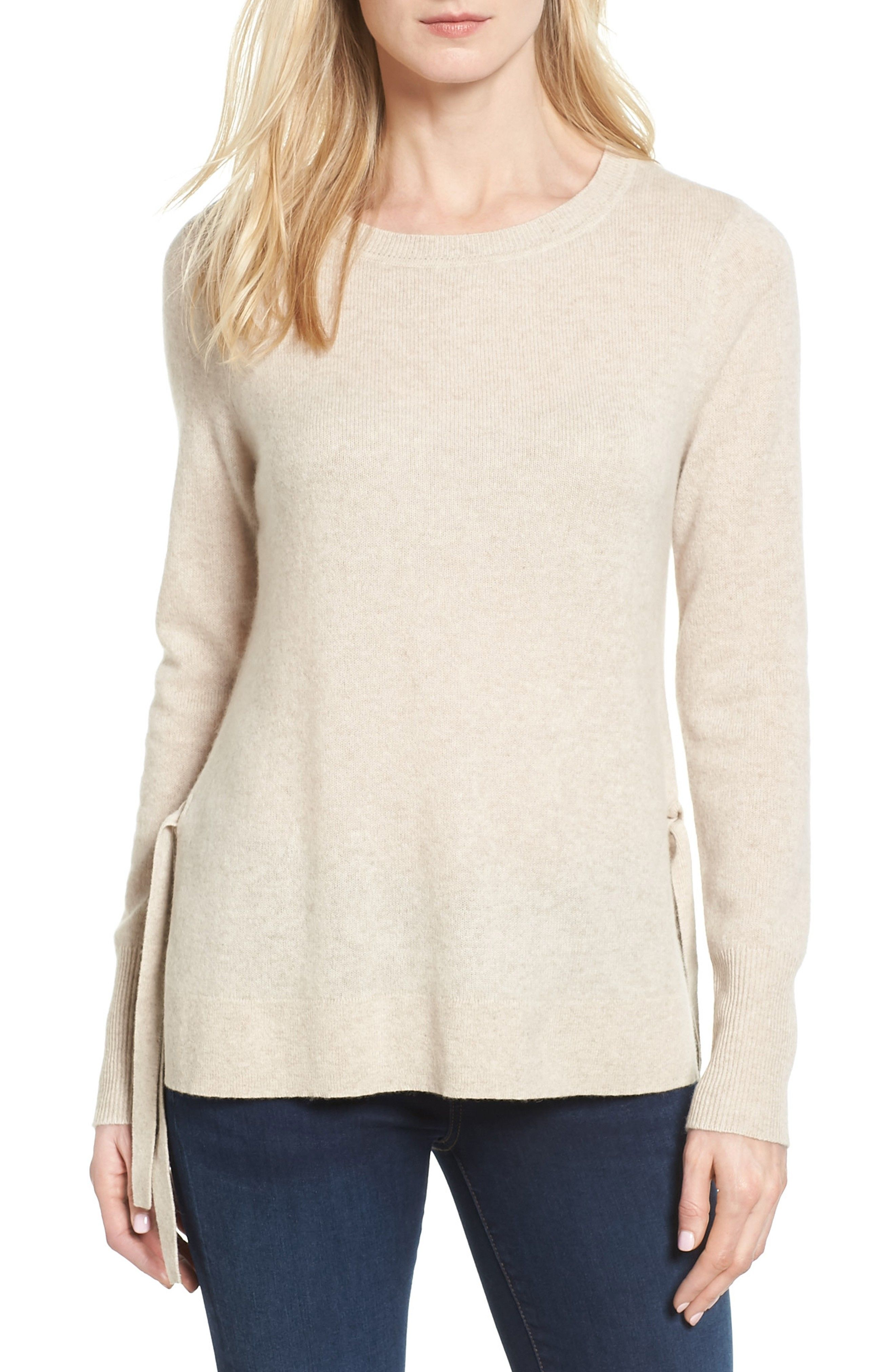 Super soft side tie cashmere sweater by Halogen from Nordstrom ...