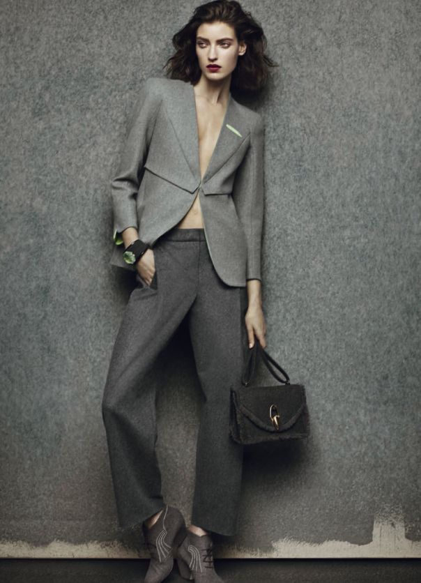 George Alsford, Marikka Juhler by Sølve Sundsbø for Giorgio Armani Fall Winter 2014-2015 1