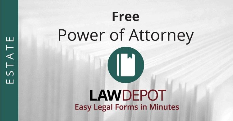 Customize Print And Download Your Free Power Of Attorney In