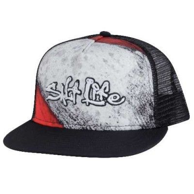 e217917cfd189 Salt Life Men s Dive Deep Mesh Cap (Black One Size)