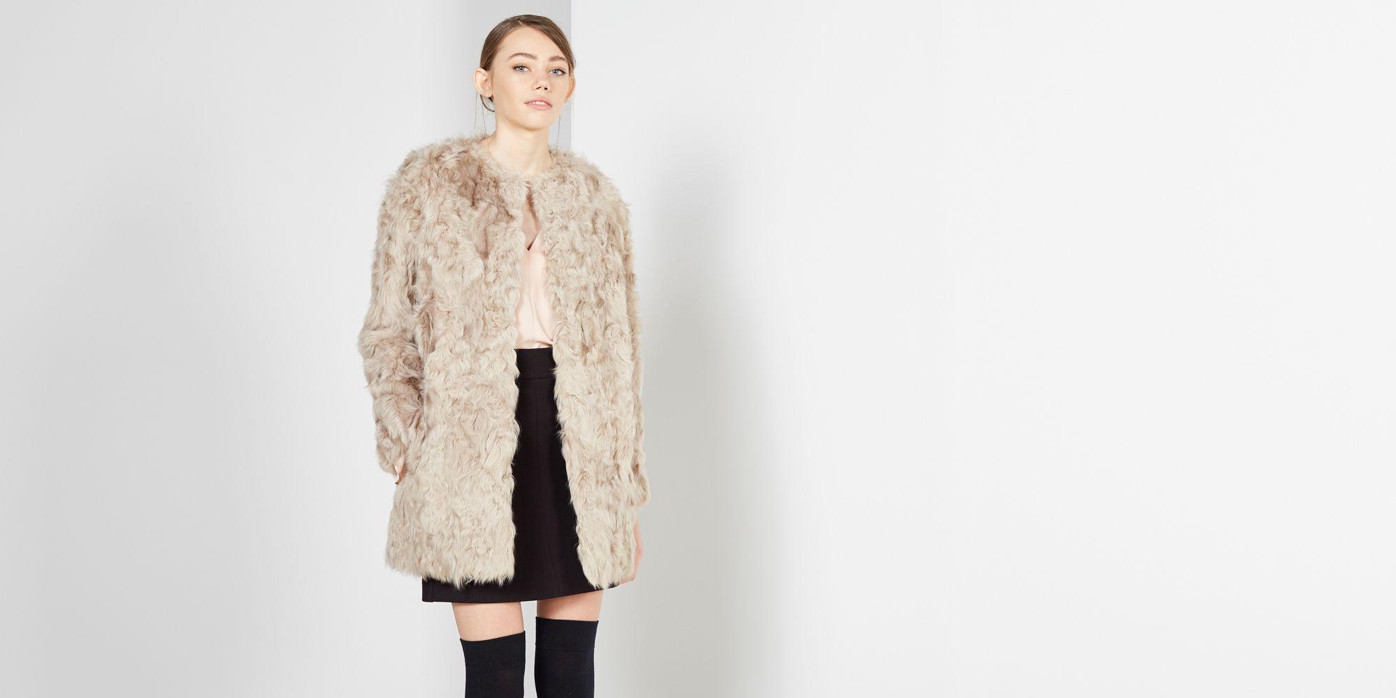 grandes ofertas en moda mejor lugar para 100% autenticado Pin de Mariola Martinez en Coat | Abrigos de pelo, Abrigos y ...