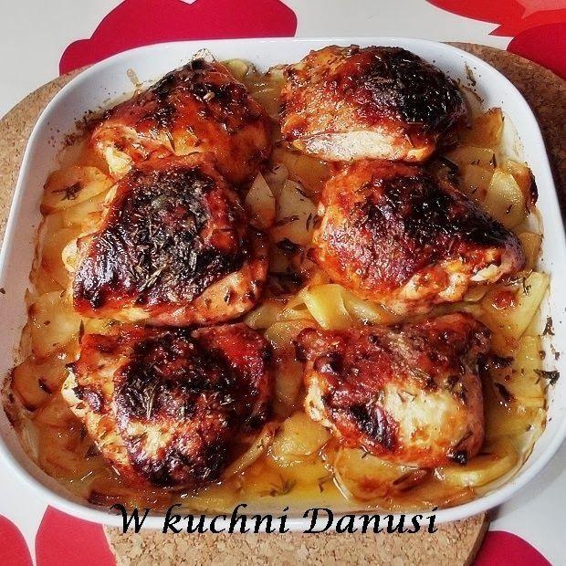 Co Mi W Duszy Gra Kurczak Pieczony Na Ziemniakach
