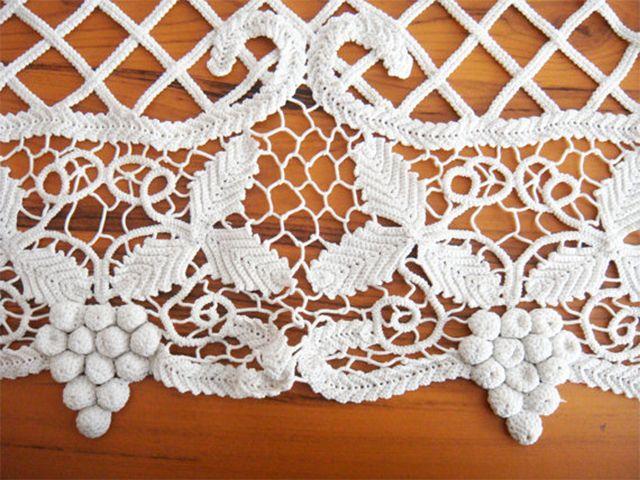 Romanian Point Lace detail