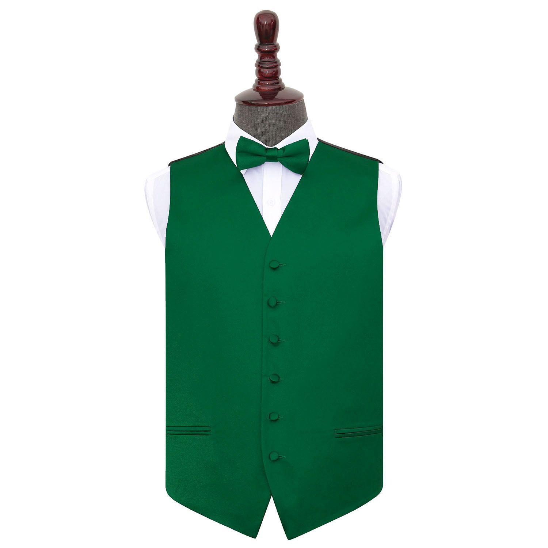 DQT Boys Plain Satin Formal Wedding Tuxedo Waistcoat