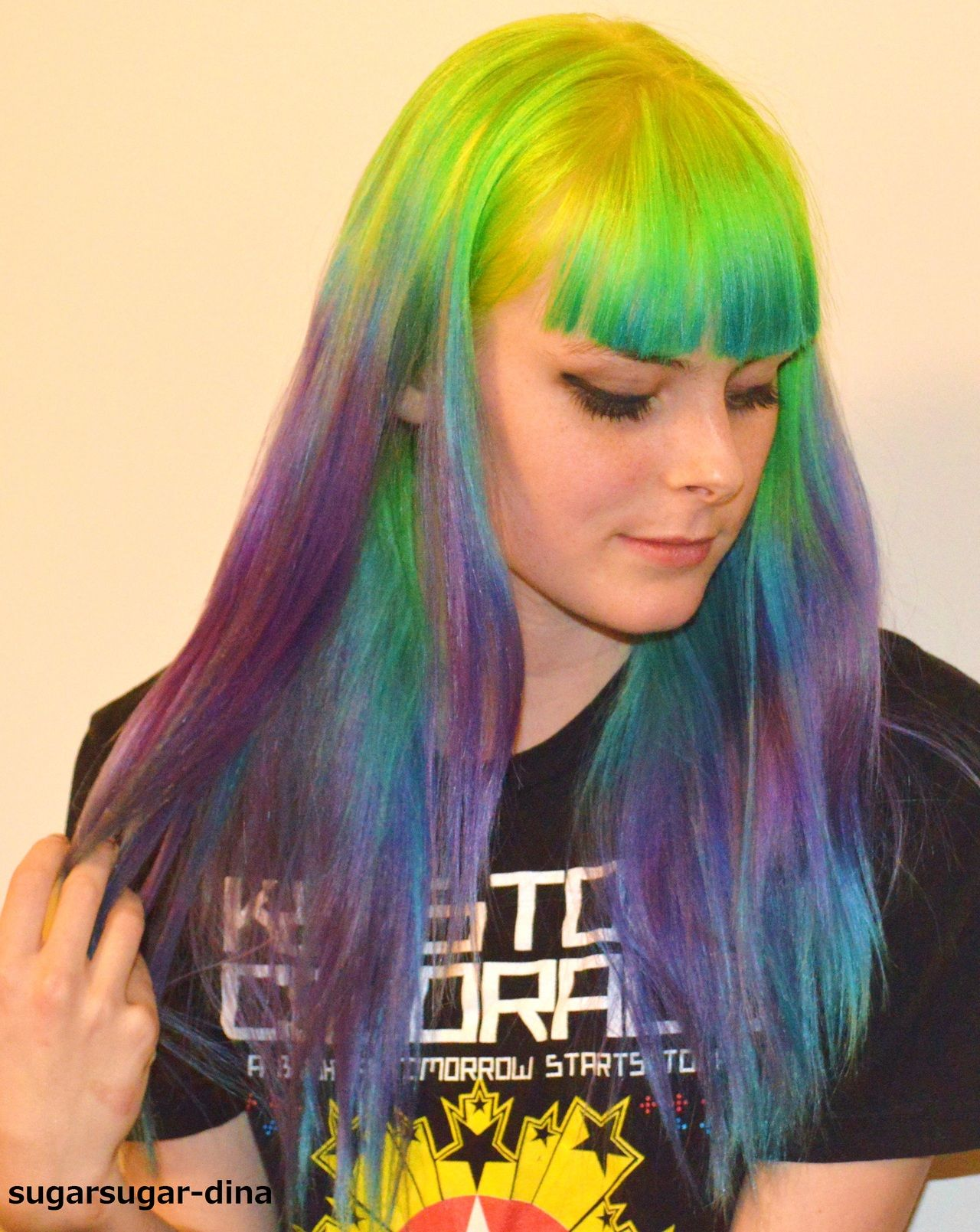 Beautiful Colors Hair And Makeup Pinterest Crazy Hair Dye