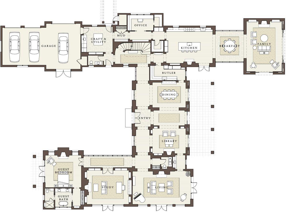 119 Tuscaloosa Avenue Atherton Floor Plans Floor Plans Architectural Floor Plans Mansion Floor Plan