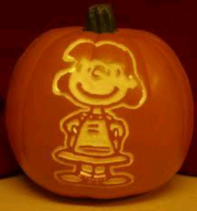 lucy pumpkin it s the great pumpkin carvings charlie brown