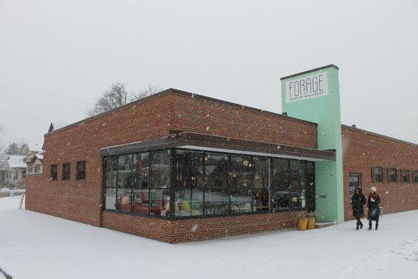 A Visit To Forage Modern Workshop Storefront Design Exterior Design Modern Exterior