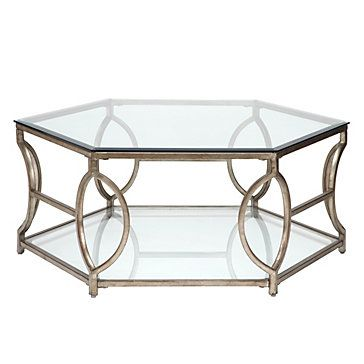 Brooke Hexagonal Coffee Table Tables Occasional Furniture Z Gallerie
