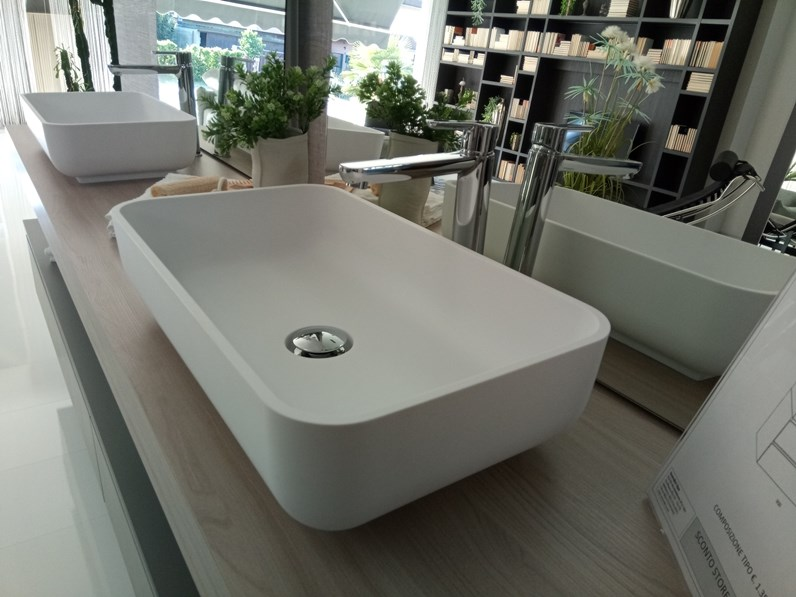 Mobile Bagno Sospeso Qi Scavolini Bathrooms A Prezzo Scontato