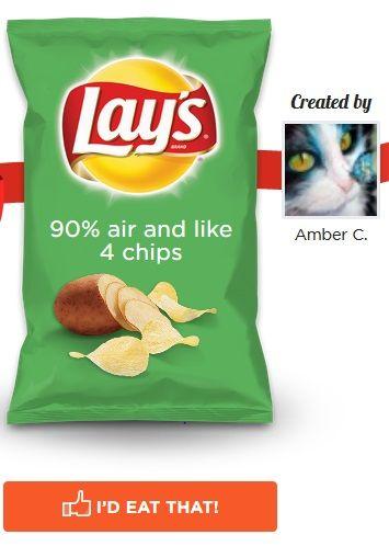 Weird Chip Flavors Meme 5