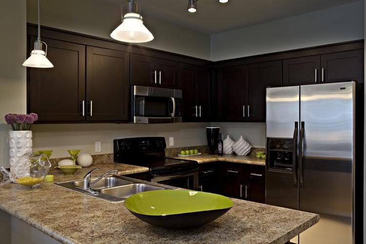 Show me your dark/espresso type cabinets - Kitchens Forum ...