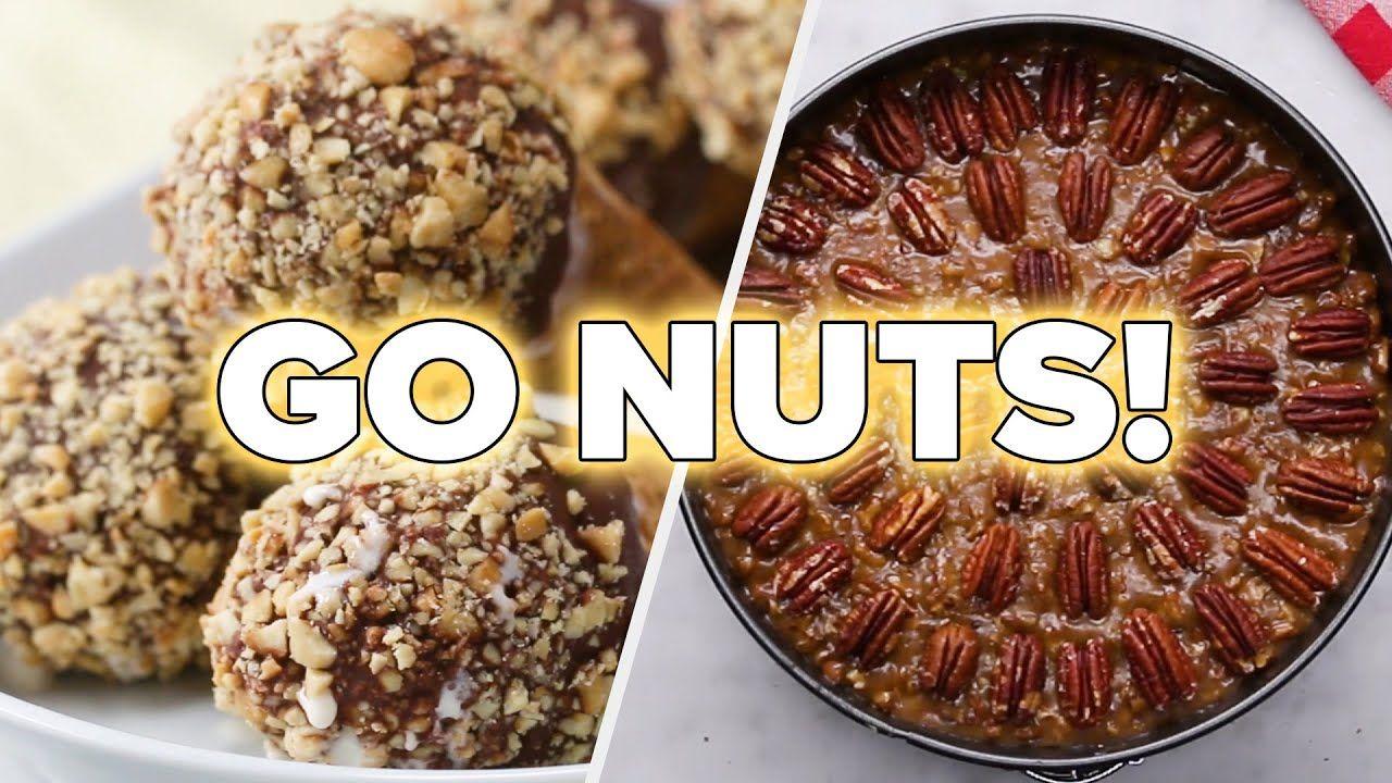 7 nutty desserts to die for tasty youtube tasty