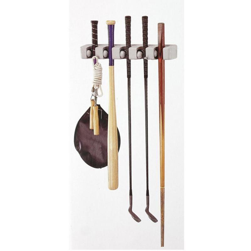 Multi Placed Door Rack Hooks Kitchen Hanging Storage Hanging Holders  Kitchen Storage Mop Brush Broom Organizer Holder Tool