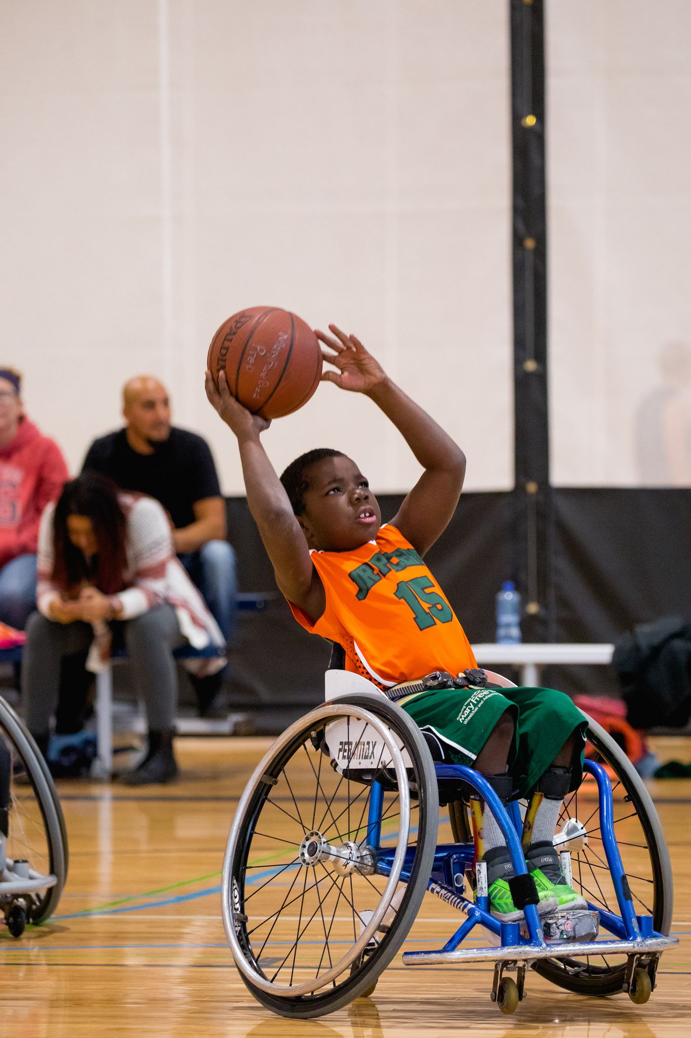 https://flic.kr/p/DcAkyC | Jr. Pacers Wheelchair Basketball Home Tournament @ Mary Free Bed YMCA - Nov 4, 2017