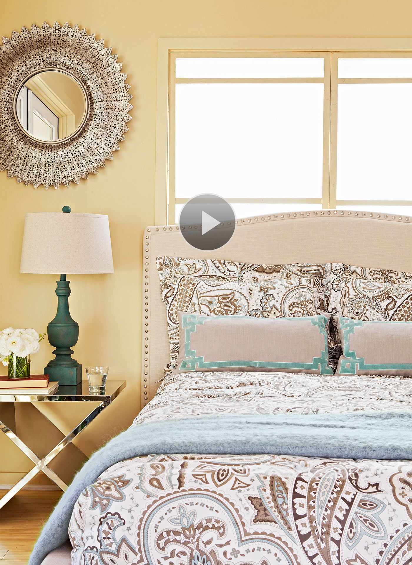Watch Bedroom Paint Color Picks In The Better Homes And