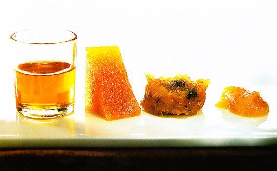 Cuatro membrillos by www.vinosyrecetas.com