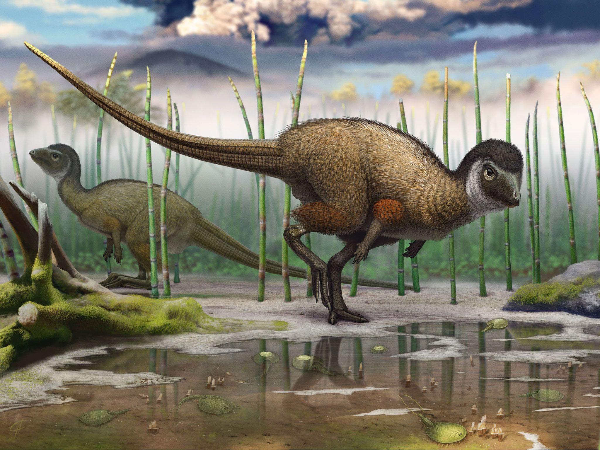 Prehistoric animals living in Russia