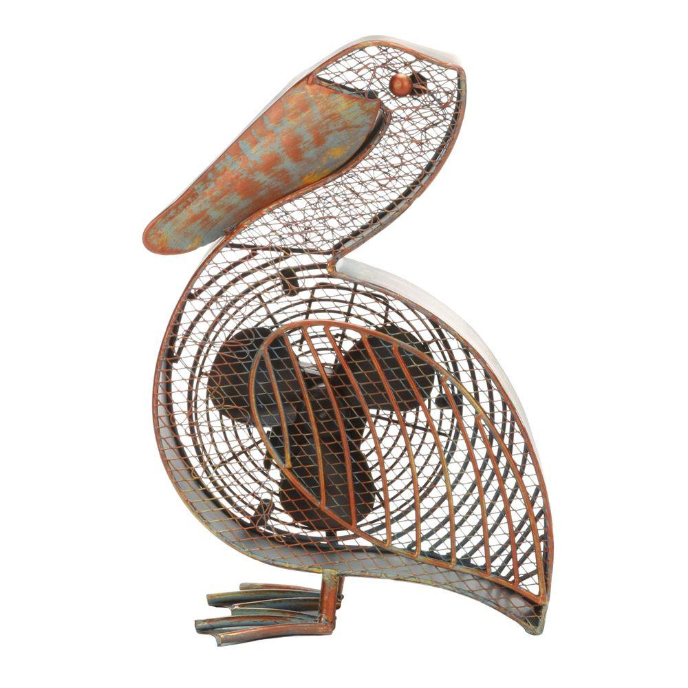 Deco Breeze 7 In Figurine Fan Pelican Deco Figurines Fan
