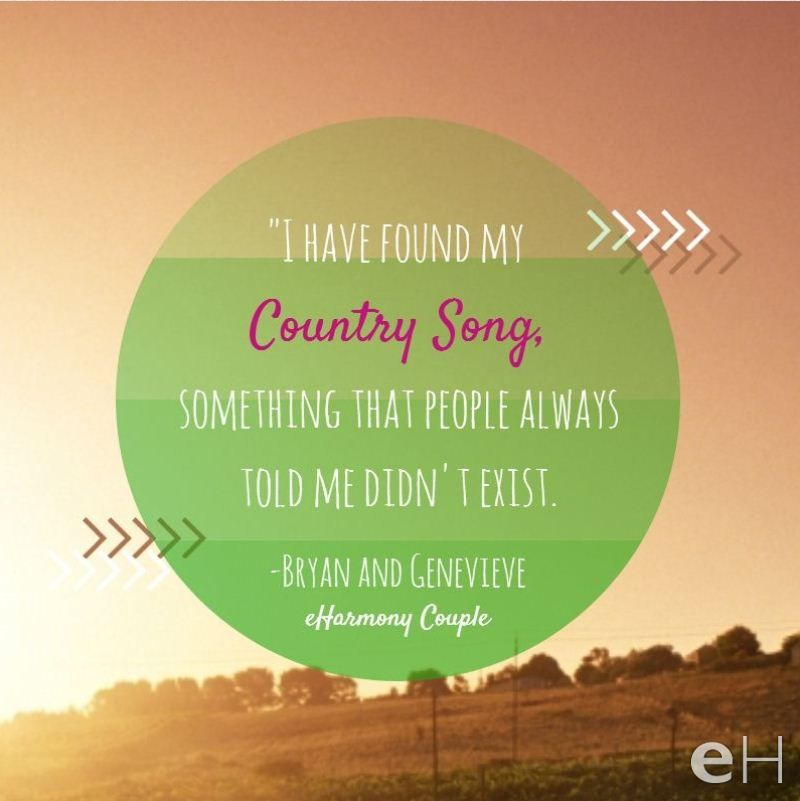 Do You Want A Country Song Too Eharmony Whattheysaid Success