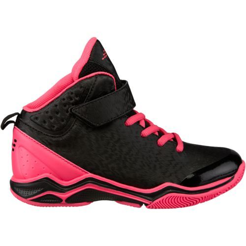 Bcg Girls Crossover Basketball Shoes Black Bright Pink Size 3