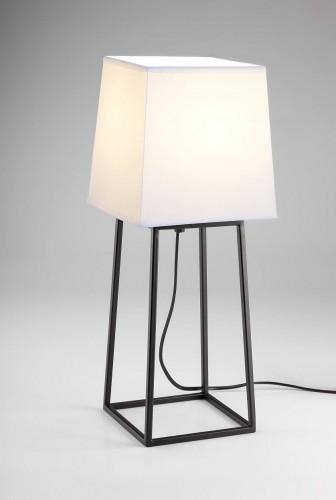 Stylowa Lampa Stolowa Tomo Podstawa Metal Jasny Abazur Oswietlenie Led Auhilon Table Lamp Decor Lamp