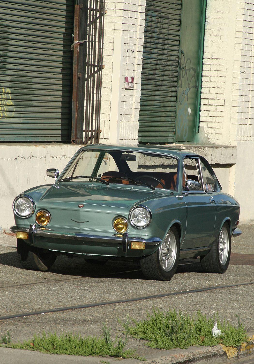 1971 Fiat 850 Sport Coupe Avec Images Fiat 850 Sport