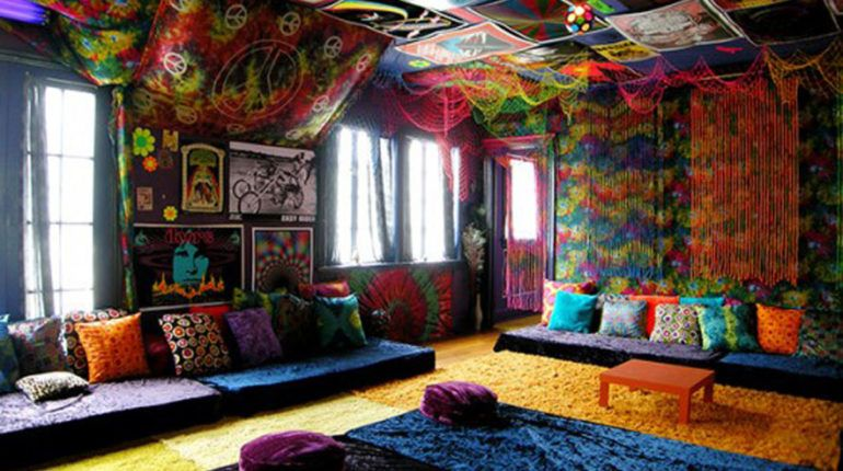 decoration maison hippie
