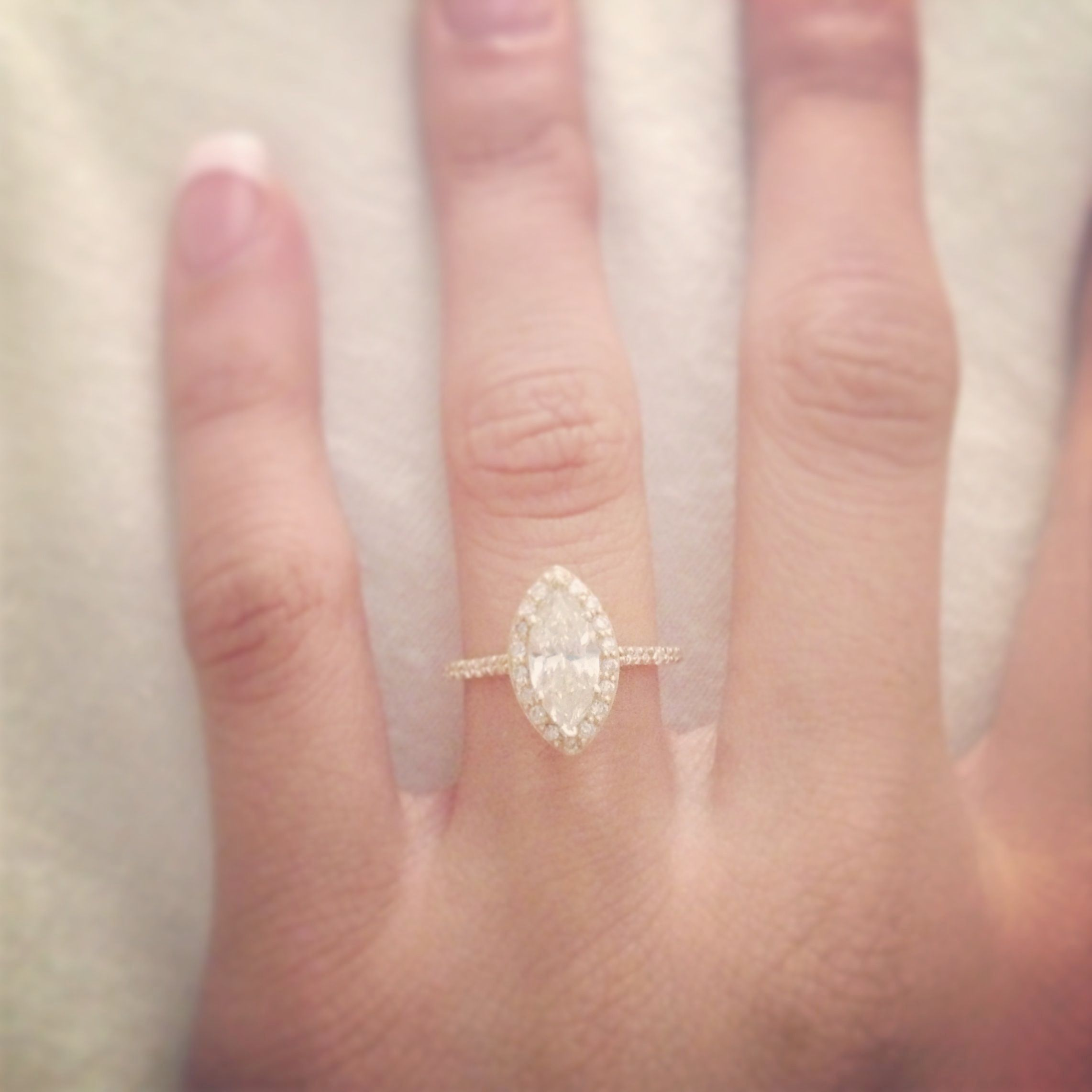 Reusing An Old Engagement Ring Vintage Diamond Ring Gold   Old ...