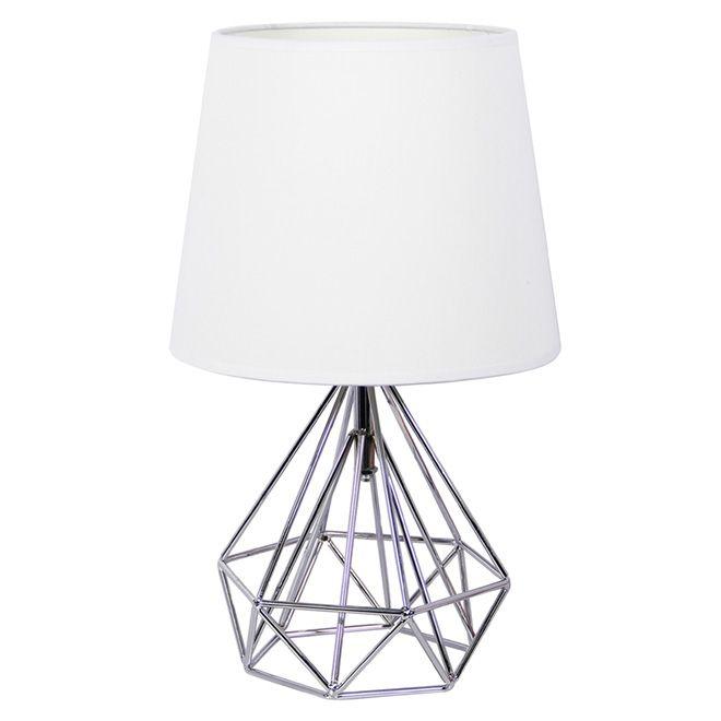 Table Lamp Cosmo 40w Chrome Spray Paintlighting