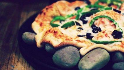 بيتزا على حجارة الطابون Recipe Recipes Arabic Food Food