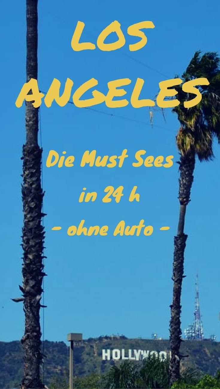 Die Zeit in Los Angeles Kalifornien
