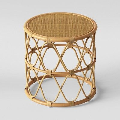 Jewel Round Coffee Side Table Set Natural Opalhouse Round