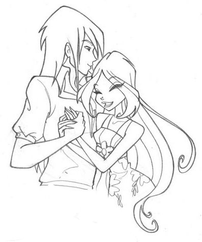 coloring pages winx google search andy pinterest winx