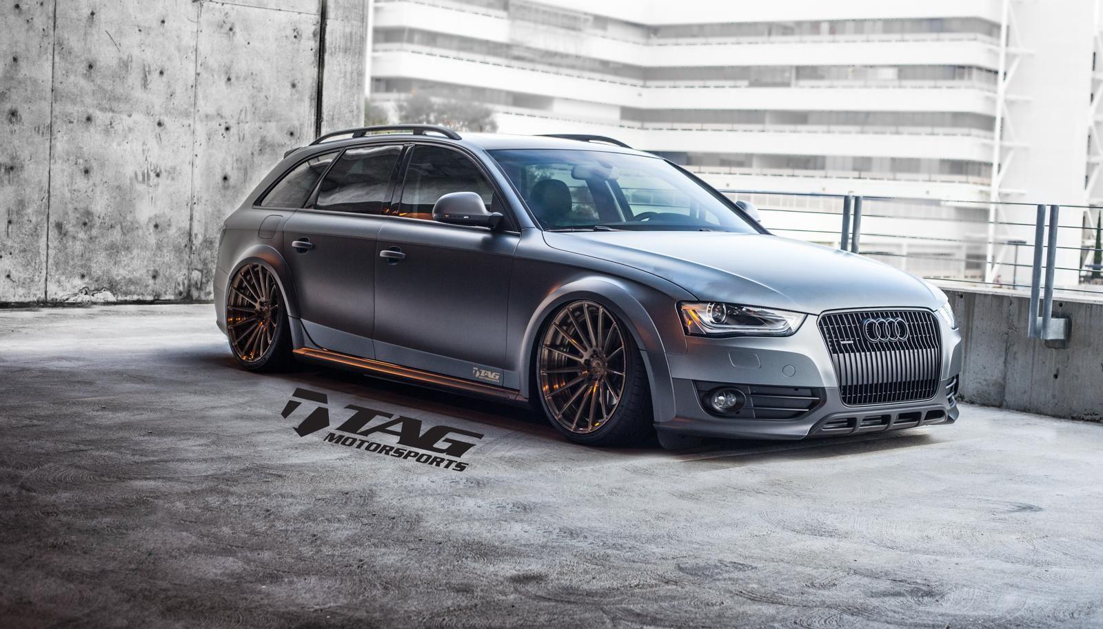 Adv 1 Audi Allroad By Tag Motorsports Audi Allroad Audi A4 Custom Wheels