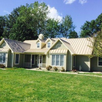 Best Sierra Tan Home Metal Roof Colors 640 x 480