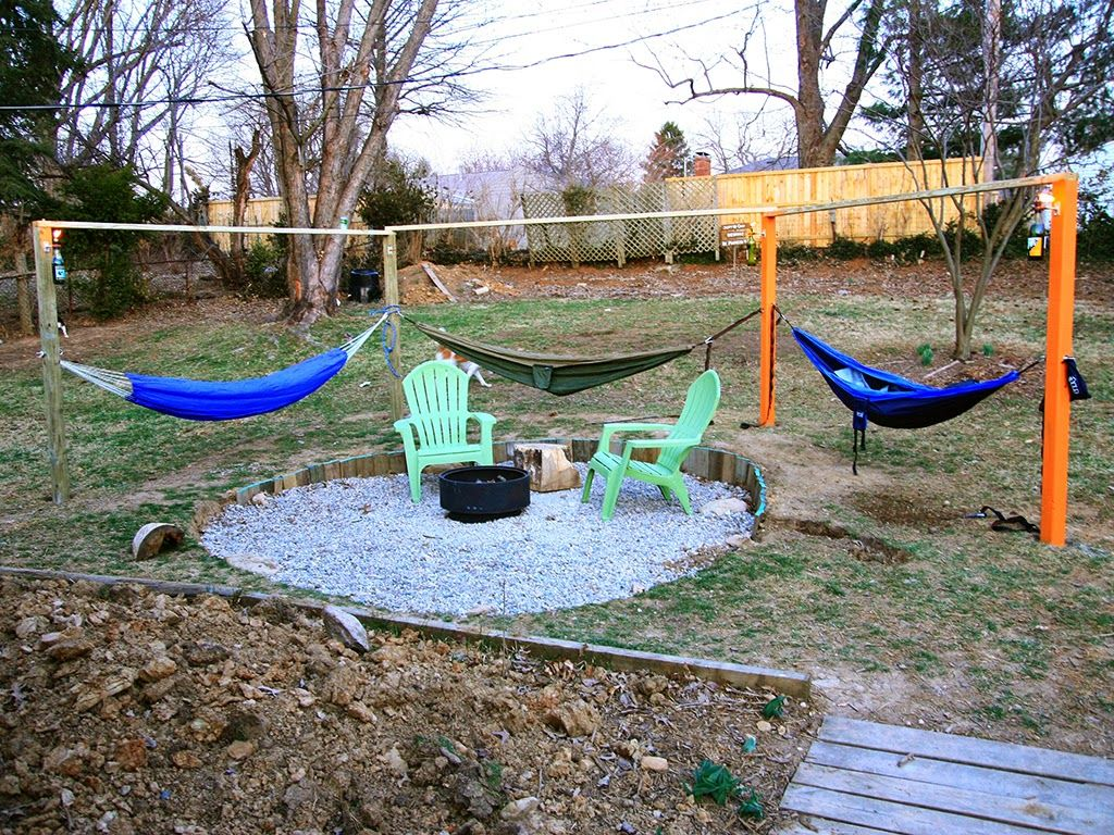 Hammock fire pit surround Part 1: My Old Kentucky House Blog   My ...