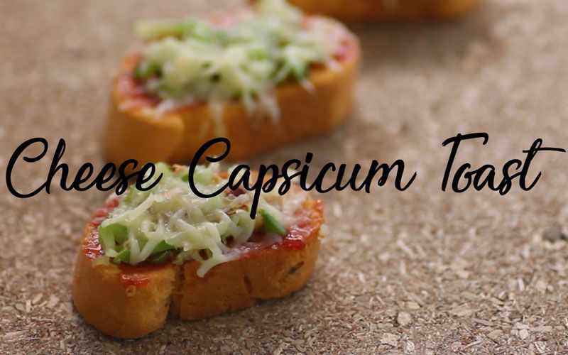 Cheese Capsium Toast http://www.whatsnewlife.com/capsicum-on-toast-with-spicy-cheese-goodness/