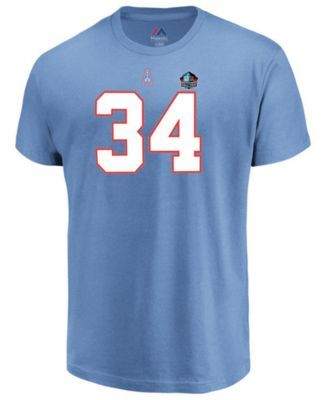 Majestic Men s Earl Campbell Houston Oilers Hall of Fame Eligible Receiver  Triple Peak T-Shirt - Blue M 23bd1d17b