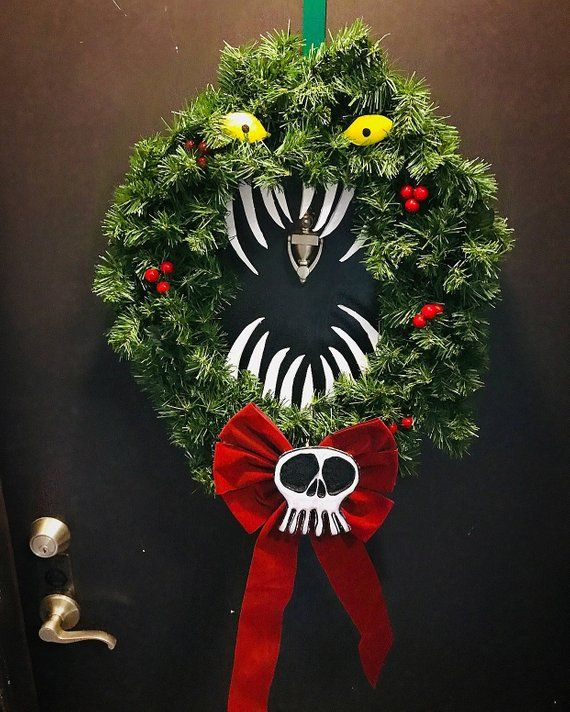 Nightmare Before Christmas Holiday Wreath Products Nightmare