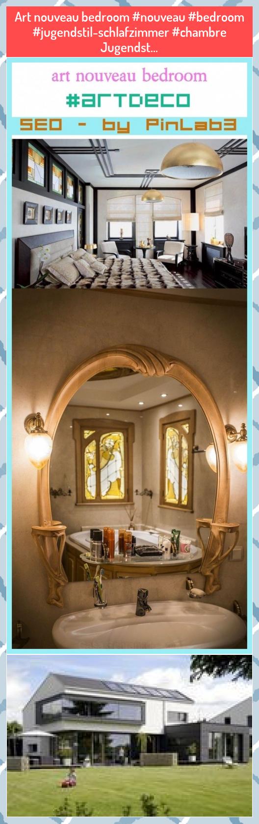 Art nouveau bedroom Jugendst
