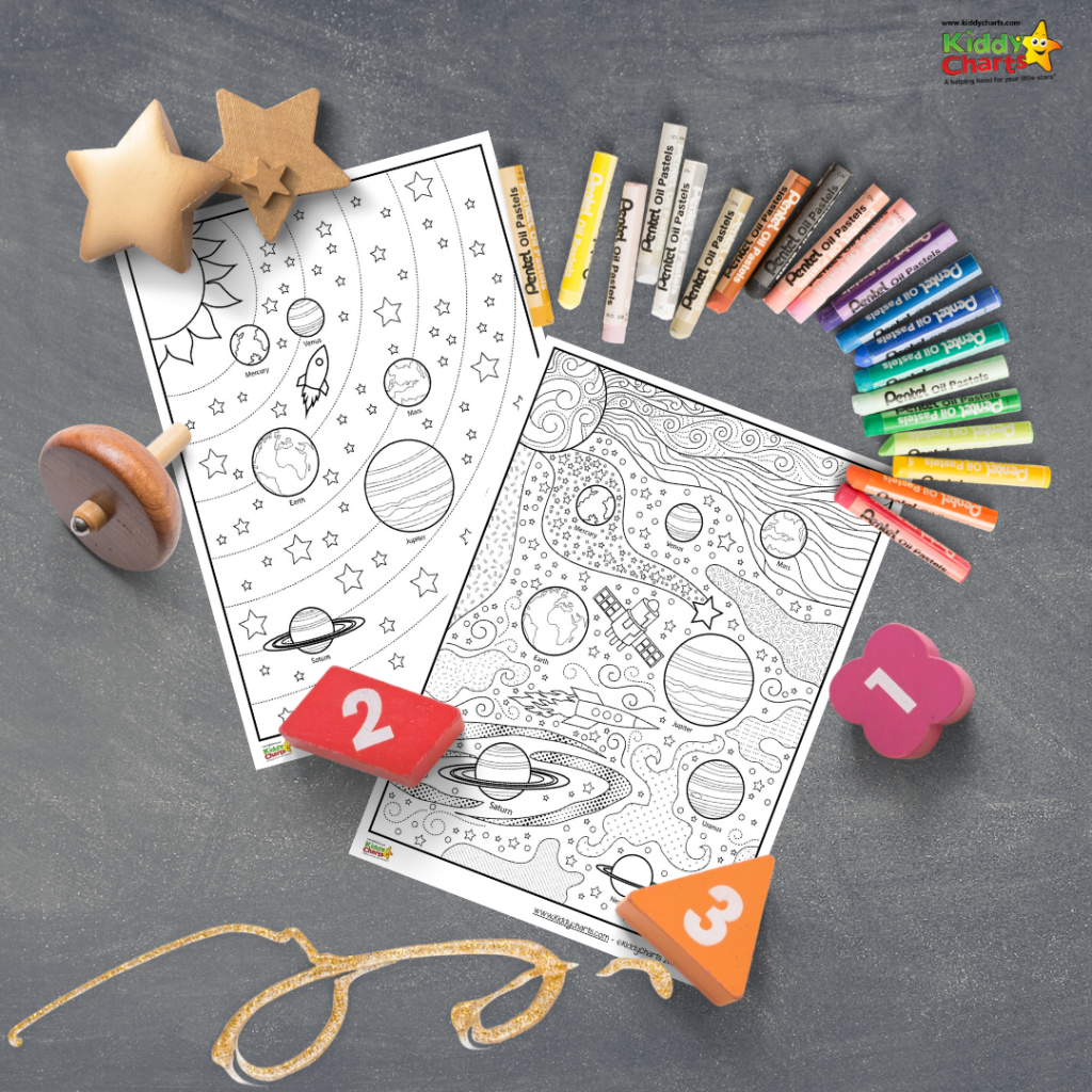 Check Out Our Fantastic Space Coloring For Kids